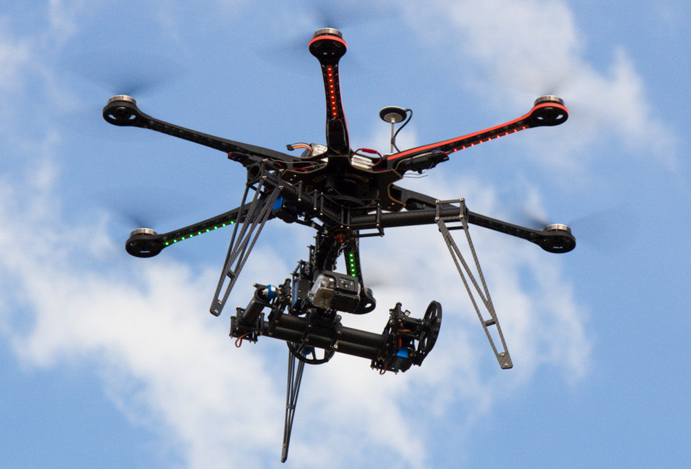 aerial drone video production